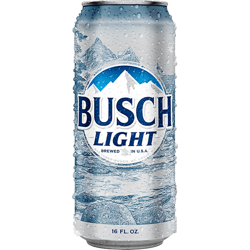 Busch Light Beer, 6 pk 16 fl. oz. Cans