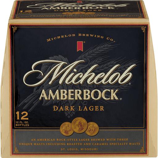 Michelob Beer, Dark Lager, Amber Bock