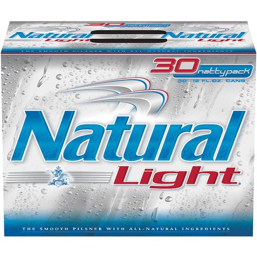 Natural Light - 30 PK