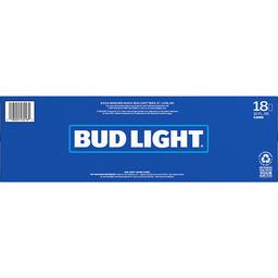 Bud Light Beer - 18 CT | Park City