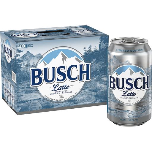 Busch Light Beer 30 Pack 12 Fl Oz Cans 4 1 Abv Buehler S