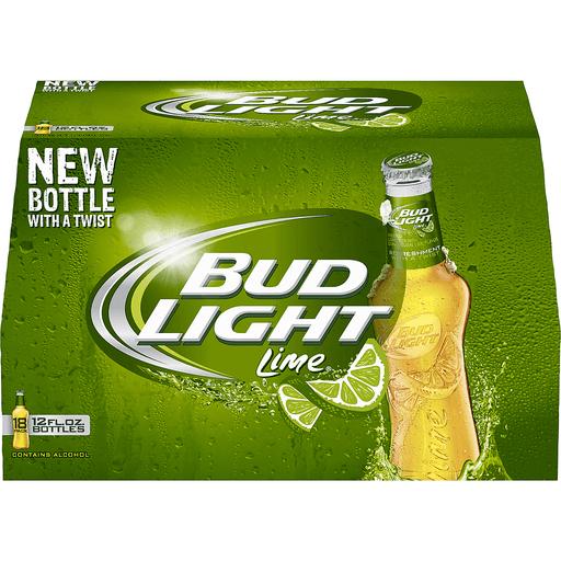Bud Light Lime® Beer 18-12 fl. oz. Bottles