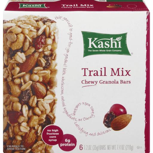Kashi Granola Bars, Chewy, Trail Mix