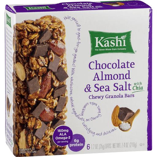 Kashi Granola Bars, Chewy, Chocolate Almond Sea Salt