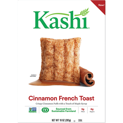 Kashi Ready To Eat Cereal Assorted Cinnamon Toast 10oz