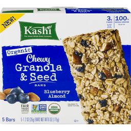 Kashi Granola Seed Bars Chewy Organic Blueberry Almond