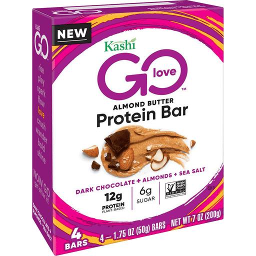 KASHI Bars Protein Bars, Dark Chocolate Almond Sea Salt ...