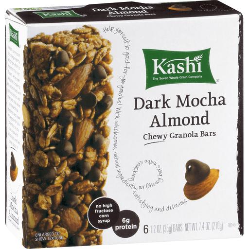 Kashi Granola Bars, Chewy, Dark Mocha Almond