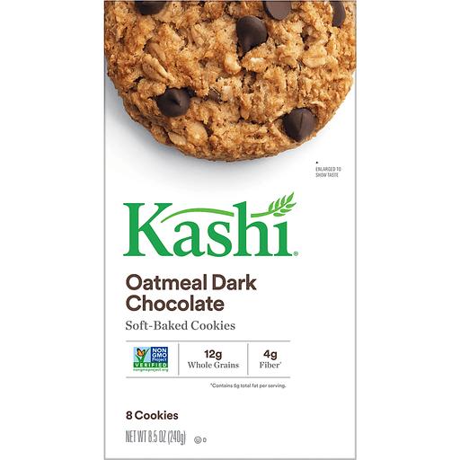 Kashi Cookies, Soft-Baked, Oatmeal Dark Chocolate