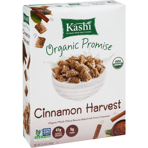 Kashi Cereal, Organic, Cinnamon Harvest