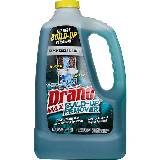 Drano Commercial Line Build-Up Remover, Max