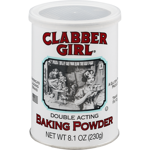 Clabber Girl Baking Powder, Double Acting
