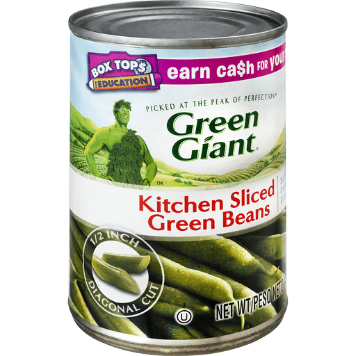 Green Giant Green Beans, Kitchen Sliced
