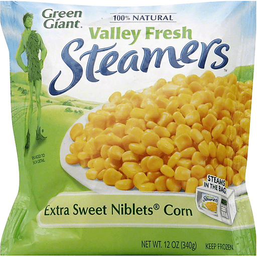 Green Giant Steamers Extra Sweet Niblets Corn