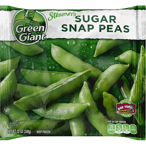 Green Giant Steamers Sugar Snap Peas Plain Select