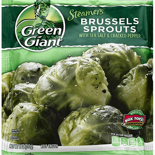 Green Giant Steamers Brussels Sprouts Seasoned