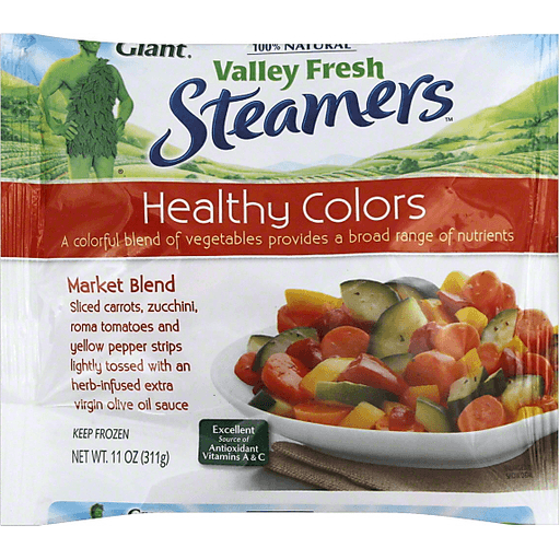 Green Giant Valley Fresh Steamers Healthy Colors Market Blend