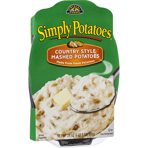 Simply Skinny Mashed Potatoes Sea Salt & Cracked Pepper