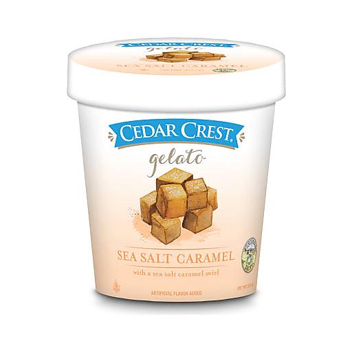 Cedar Crest Gelato Sea Salt Caramel