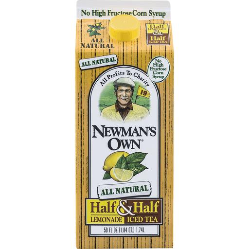 Newmans Own Iced Tea, Virgin Lemon- Aided