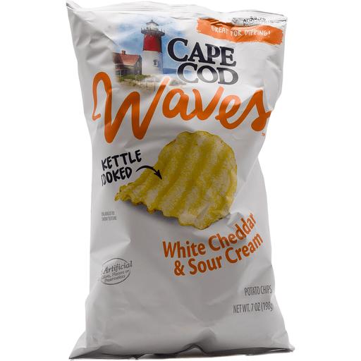 Cape Cod Waves Cheddar Sour Cream
