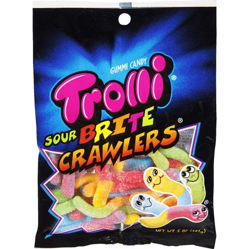 Trolli Gummi Candy, Sour Brite Crawlers