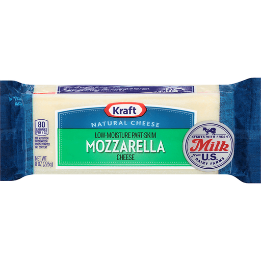 Kraft Cheese, Mozzarella | Mozzarella