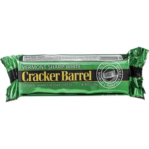 Cracker Barrel Cheese, Vermont Sharp-White Cheddar