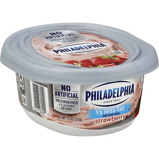 Philadelphia Reduced Fat Cream Cheese