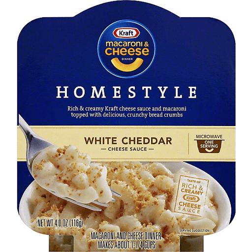 kraft macaroni cheese homestyle white
