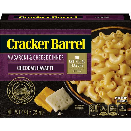 Cracker Barrel Macaroni And Cheese Dinner Cheddar Havarti