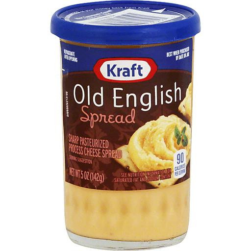 Kraft Cheese Spread, Old English