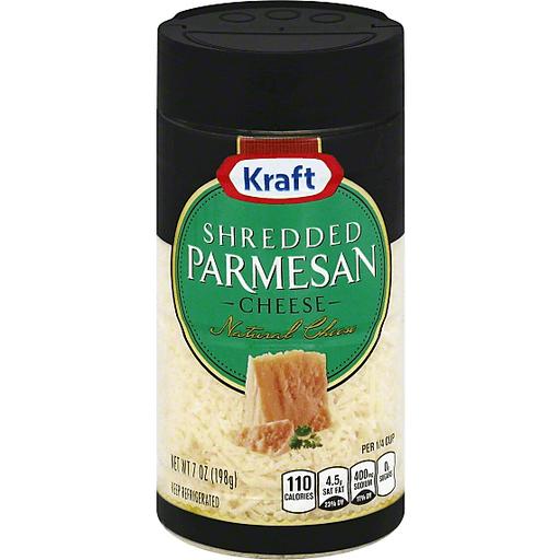 Kraft Cheese Parmesan Shredded Buehler S