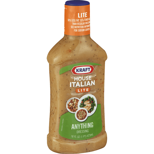 Kraft Dressing, Lite, House Italian