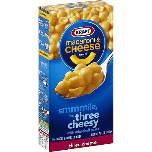 Kraft Macaroni & Cheese Dinner, Three