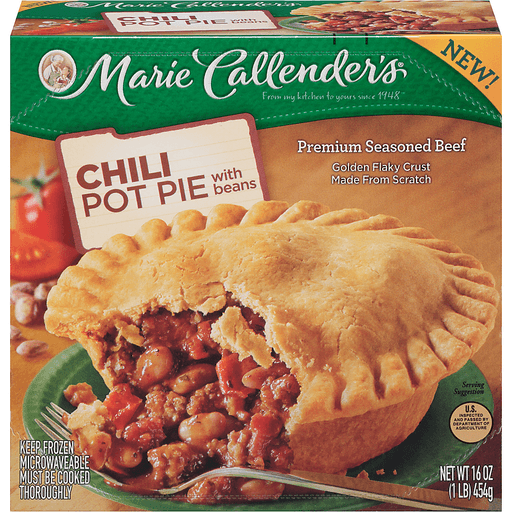 Marie Callender's Chili Pot Pie With Beans