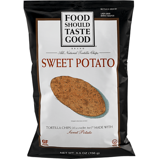 Food Should Taste Good Tortilla Chips, Sweet Potato