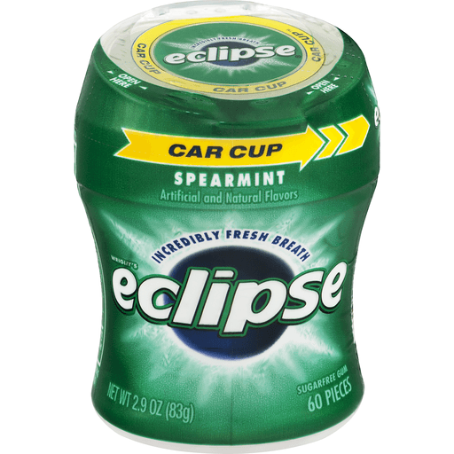Eclipse Gum, Sugarfree, Spearmint