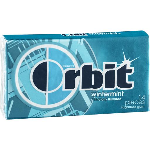 Wirgley's Orbit Sugarfree Gum Wintermint - 14 CT