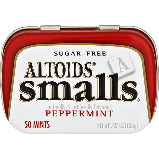 Altoids Smalls Mints, Sugarfree, Peppermint