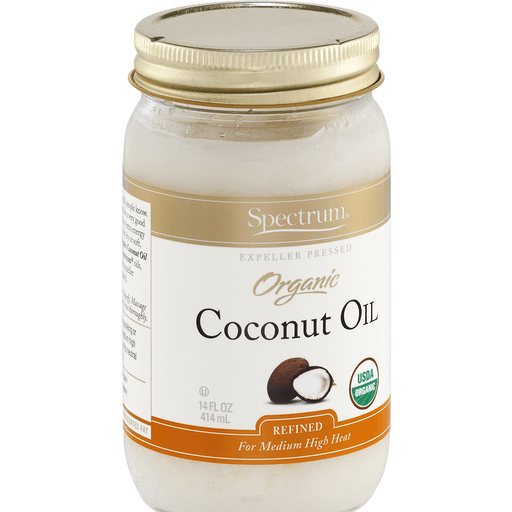 Spectrum Naturals Organic Refined Coconut Oil - 14 Fl oz.