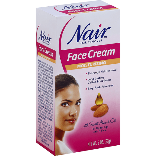 Nair Hair Remover Face Cream Moisturizing Shaving Cream Gel