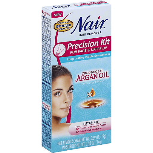 Nair Precision Face Upper Lip Kit Hair Remover Shaving