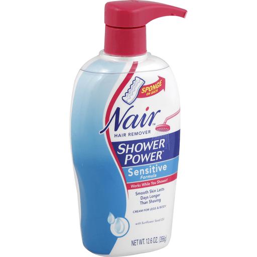Nair Sensitive Formula Hair Remover Cream Shower Power Foodtown