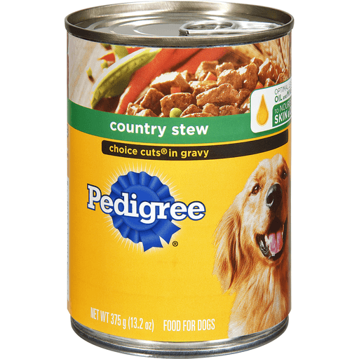 Pedigree Food for Dogs, Choice Cuts in Gravy Country Stew