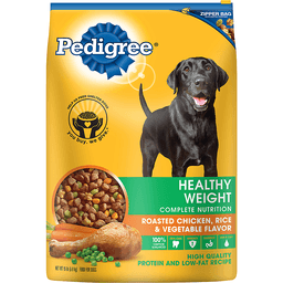 Pedigree Food for Dogs, Roasted Chicken & Vegetable Flavor, Healthy Weight Complete Nutrition, Adult