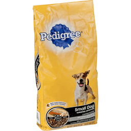 PEDIGREE Small Dog Adult Complete Nutrition Roasted Chicken, Rice & Vegetable Flavor Dry Dog Food 3.5 Pounds