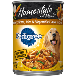 Pedigree Homestyle Meals Chicken, Rice And Vegetable Flavor Canned Dog Food