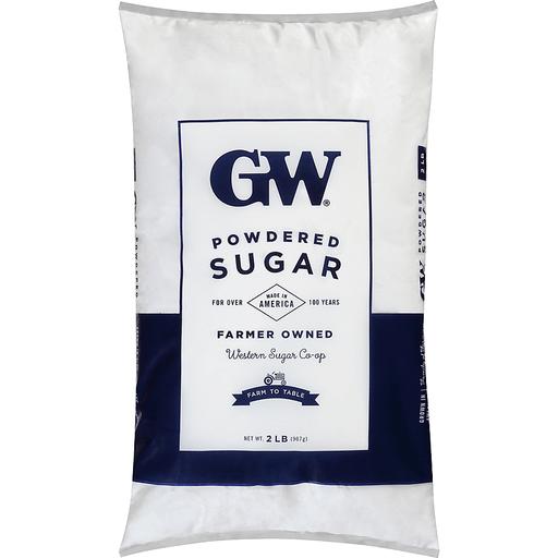 GW® Powdered Sugar 2 lb. Bag