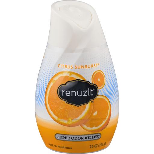 Renuzit Air Freshener, Gel, Clean Citrus